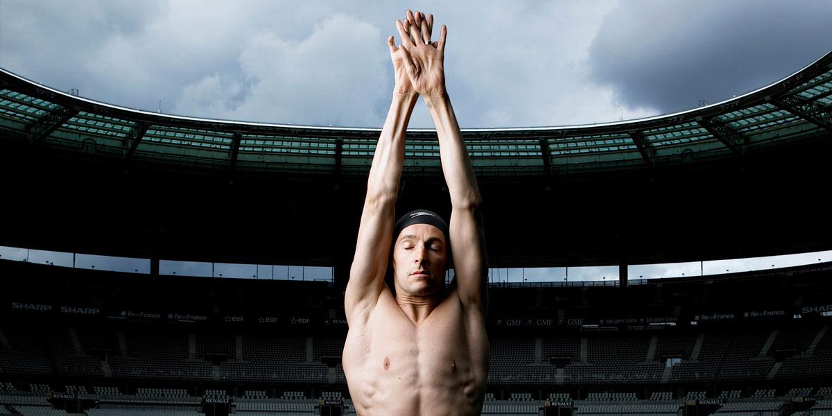 Stade de France - Le nageur libre