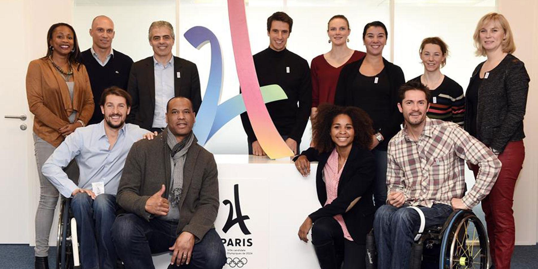 Commission des athlètes, candidature Paris 2024