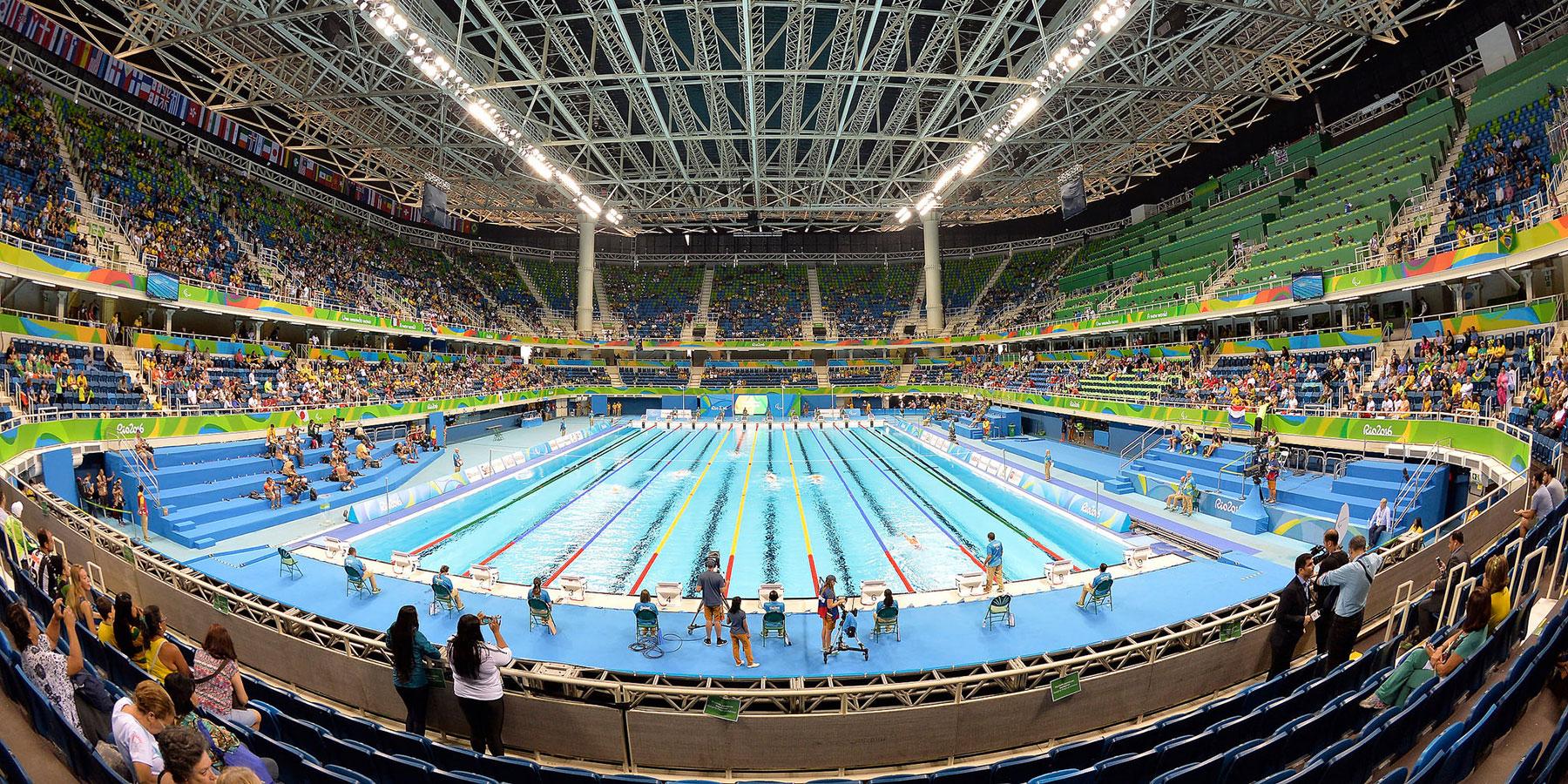 Aquatic center, Rio 2016